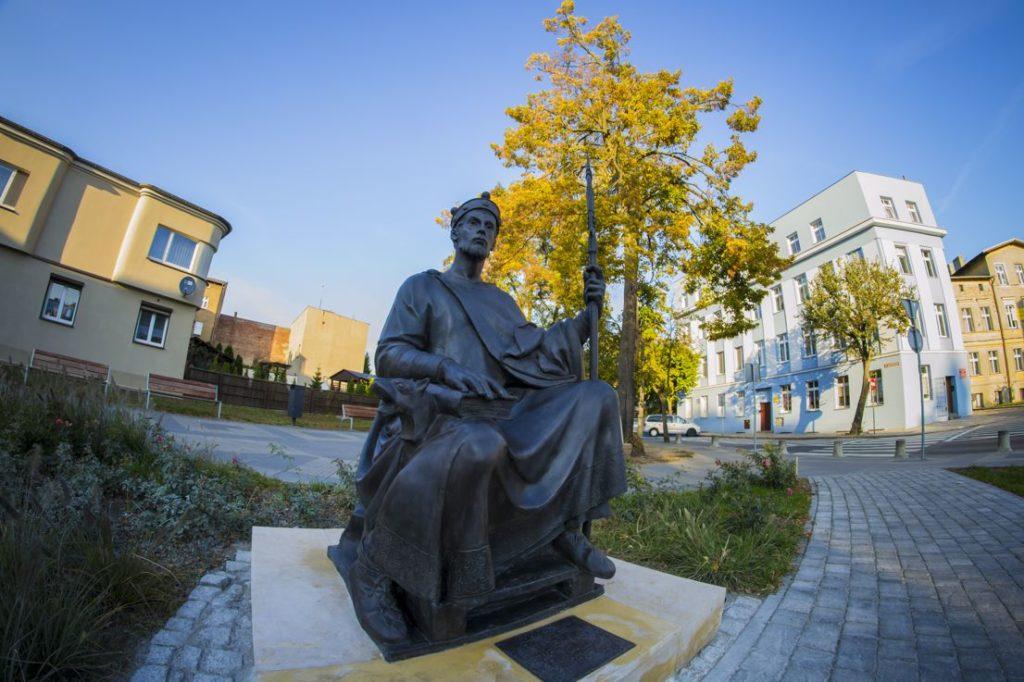 Posąg króla Polski – Mieszka II Lamberta